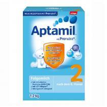 德国爱他美/Aptamil 婴幼儿配方奶粉2段(6-10个月 ) 1200g