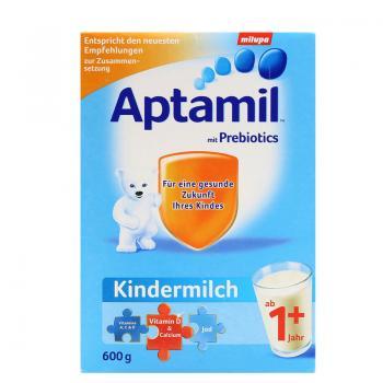 德国 Aptamil 爱他美 奶粉1+段(12-24个月宝宝) 600g