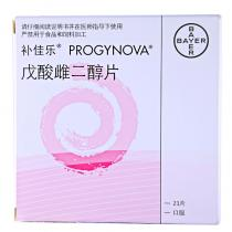 補佳樂戊酸雌二醇片21片