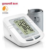 鱼跃臂式电子血压计YE660D(语音款+无电源)新外观
